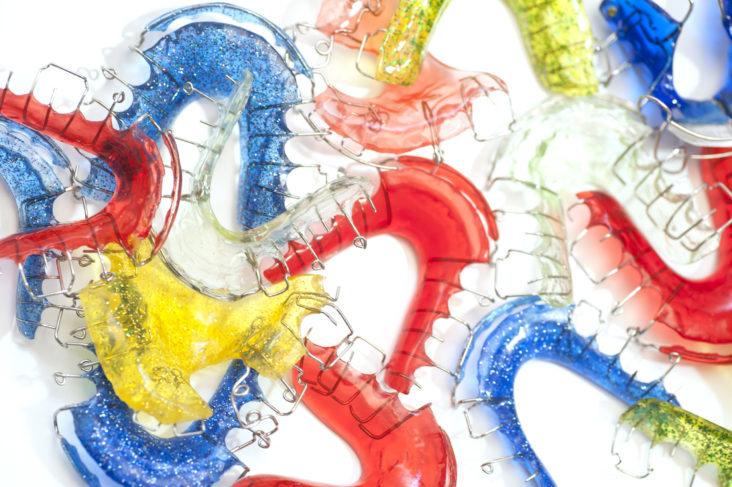 Apparecchi ortodontici mobili per bambini